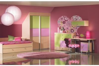 Vgradna omara za otroško sobo Planet
