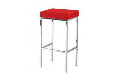 Barski stol KIAN rdeč
