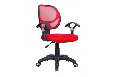 Pisarniški stol DISCO rdeč