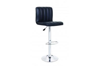 Barski stol HOT II - črn
