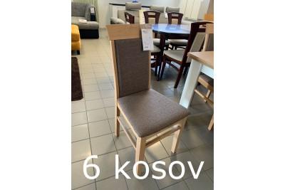 Jedilni stoli OLI - 6 kos - odprodaja