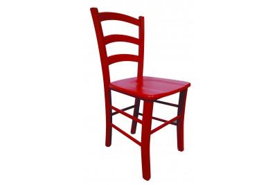 Stol PAESANA rdeč