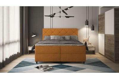 Francoska postelja Jana rumena - več dimenzij