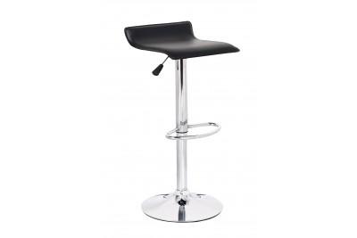 Barski stol WAVE II - črn