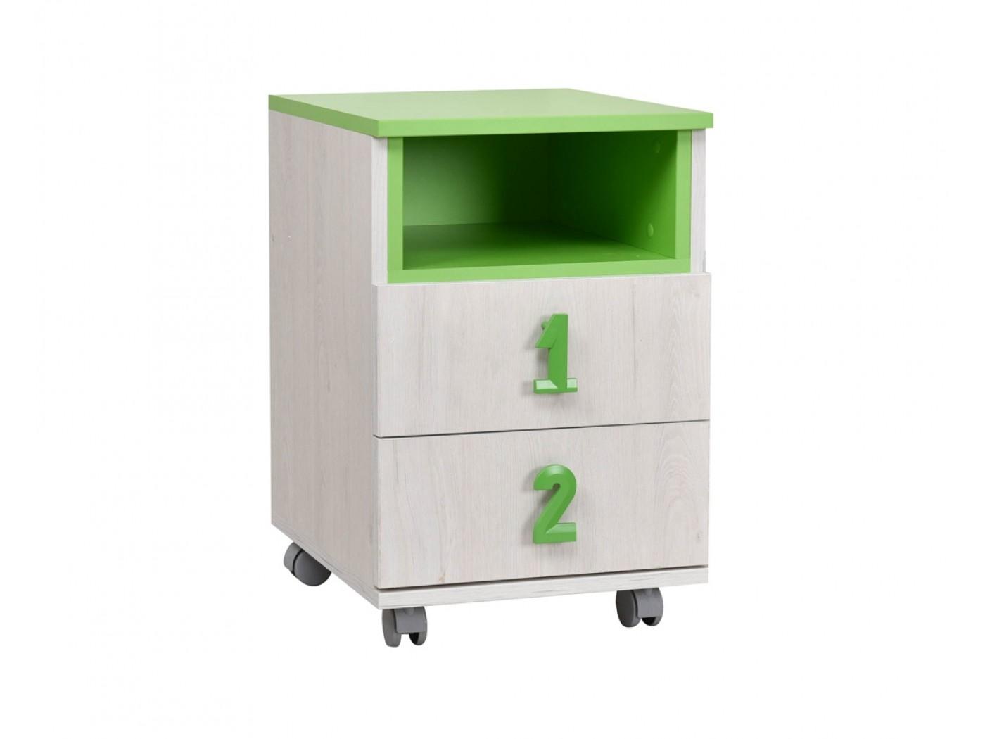 beli hrast - zelena