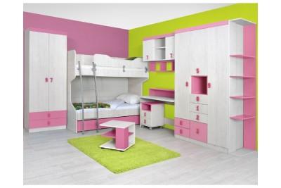 Otroška soba Numero - sestav 2 (roza)