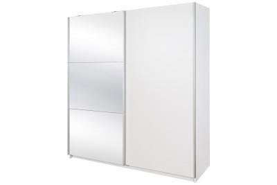 Drsna omara z ogledalom Luka Standard II