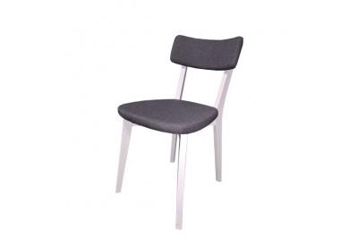 Stol LILLY sivo-bel