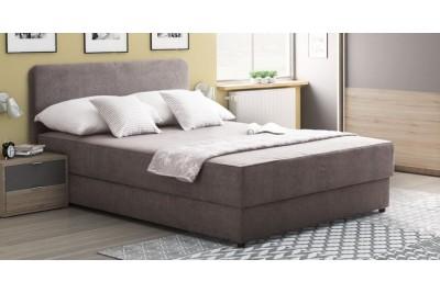 Francoska postelja Marina 120 siva