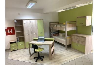 Otroška soba Kinder zelena - sestav 1