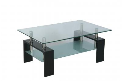 Klubska miza INTRO črna