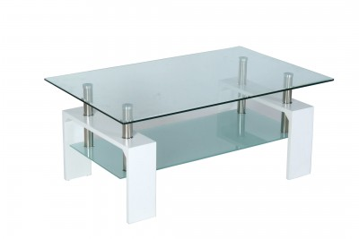 Klubska miza INTRO bela
