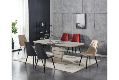 Raztegljiva miza RONIX kapučino 160(200)x90 cm
