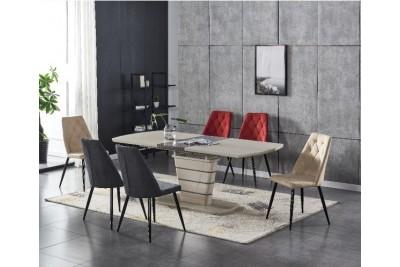 Raztegljiva miza RONIX kapučino 120(160)x80 cm