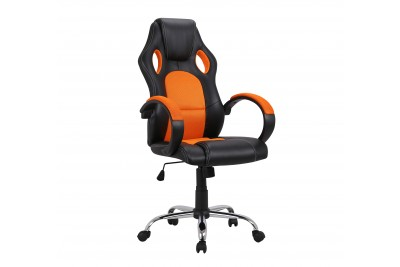 Pisarniški stol NETY oranžen