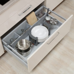 Alples kuhinje - shranjevanje